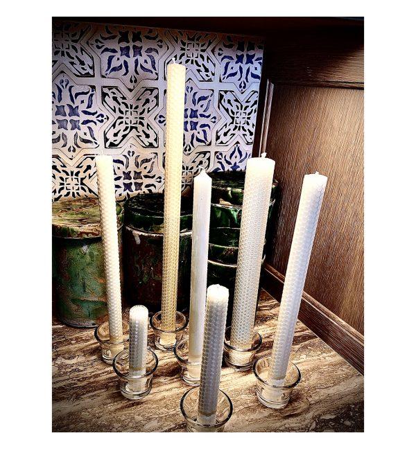 Perin-Mowen Dinner Candles